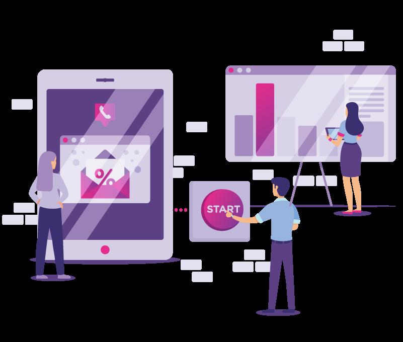 Viber, SMS marketing, call center - Data Innovation